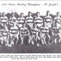 1954 St Josephs Senior Hurling Champions