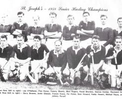 St. Jospeh's 1958 Senior Hurling Champions